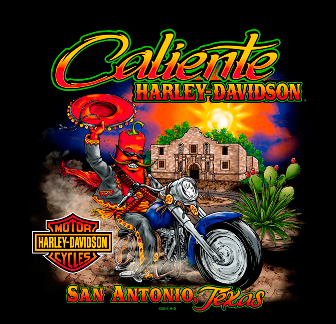 Caliente Harley Davidson Biker Businesses